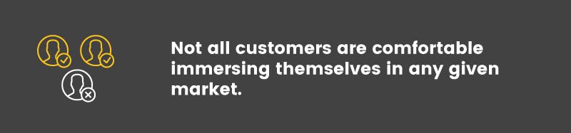 customer segmentation reluctants comfortable