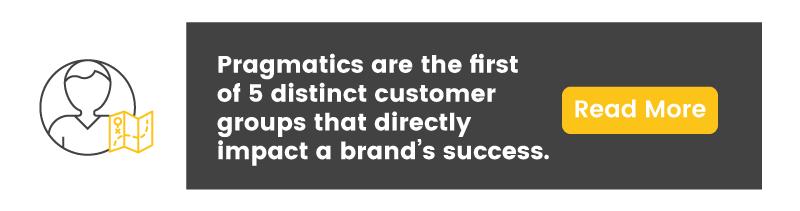 customer segmentation reluctants pragmatics CTA