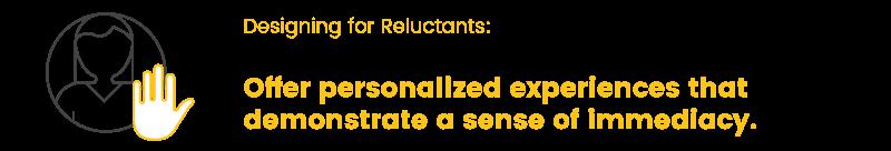 customer segmentation reluctants takeaway