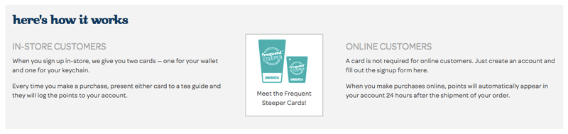davidstea frequent steeper how it works