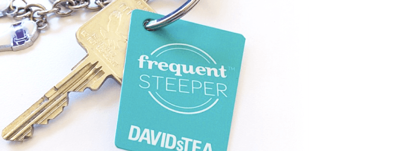 davidstea frequent steeper keyring
