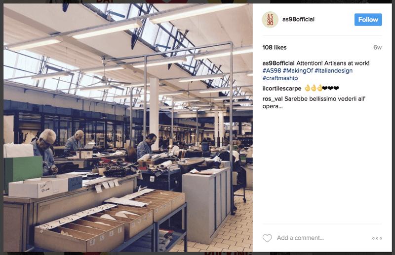 instagram S98 behind the scenes