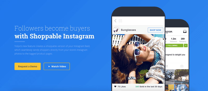 instagram yotpo shoppable