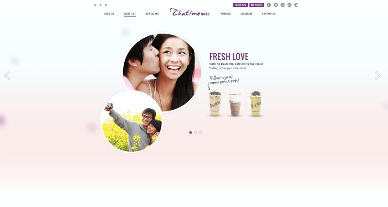 chatime rewards homepage