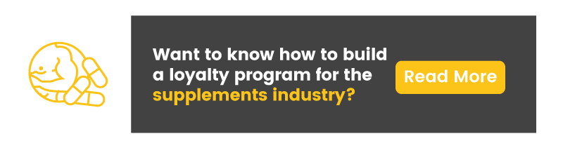 supplements loyalty program example supplements industry guide CTA