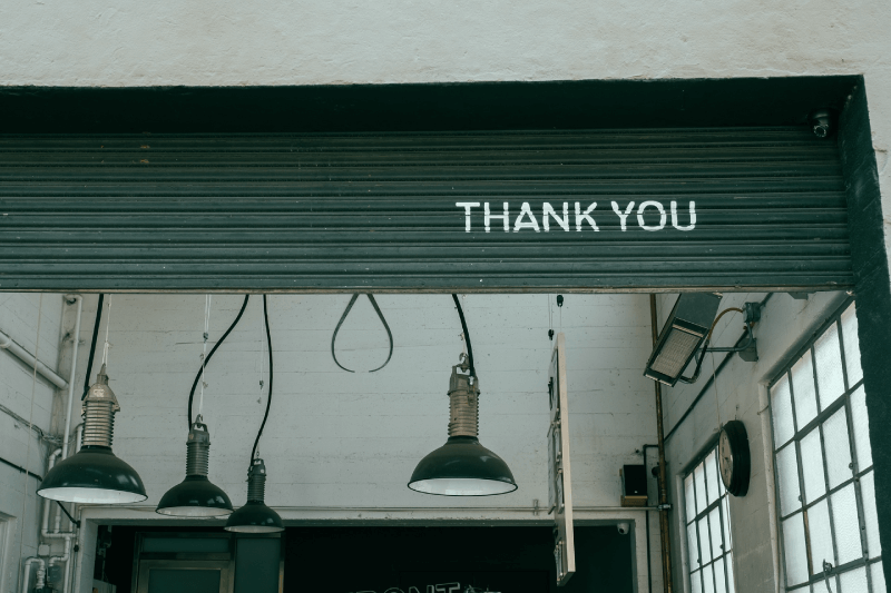 Why You Should Always Be Thanking Customers