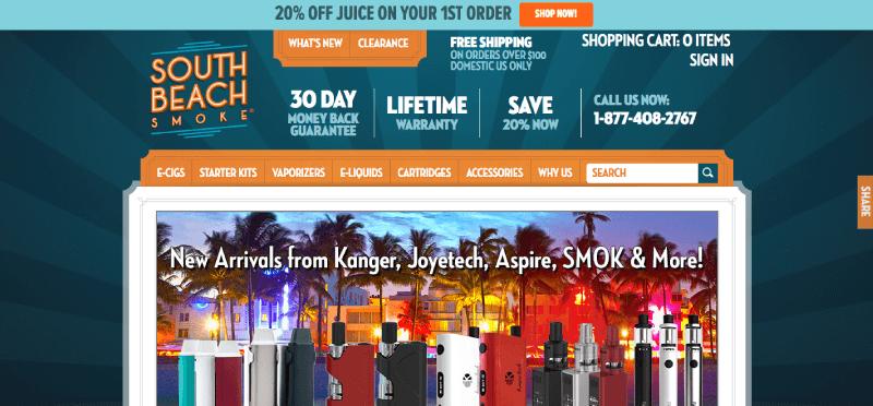 ecig loyalty program examples south beach smoke homepage