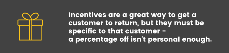customer engagement incentives