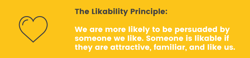 likable likability principle
