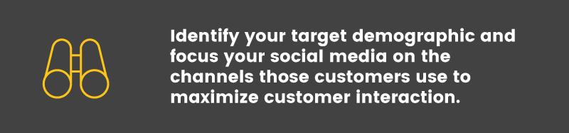 social media is ineffective target demographic