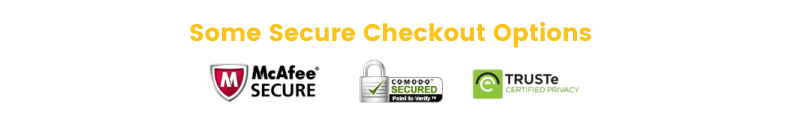 afraid of shopping online checkout options