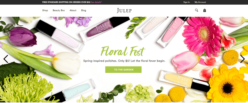 subscription boxes julep